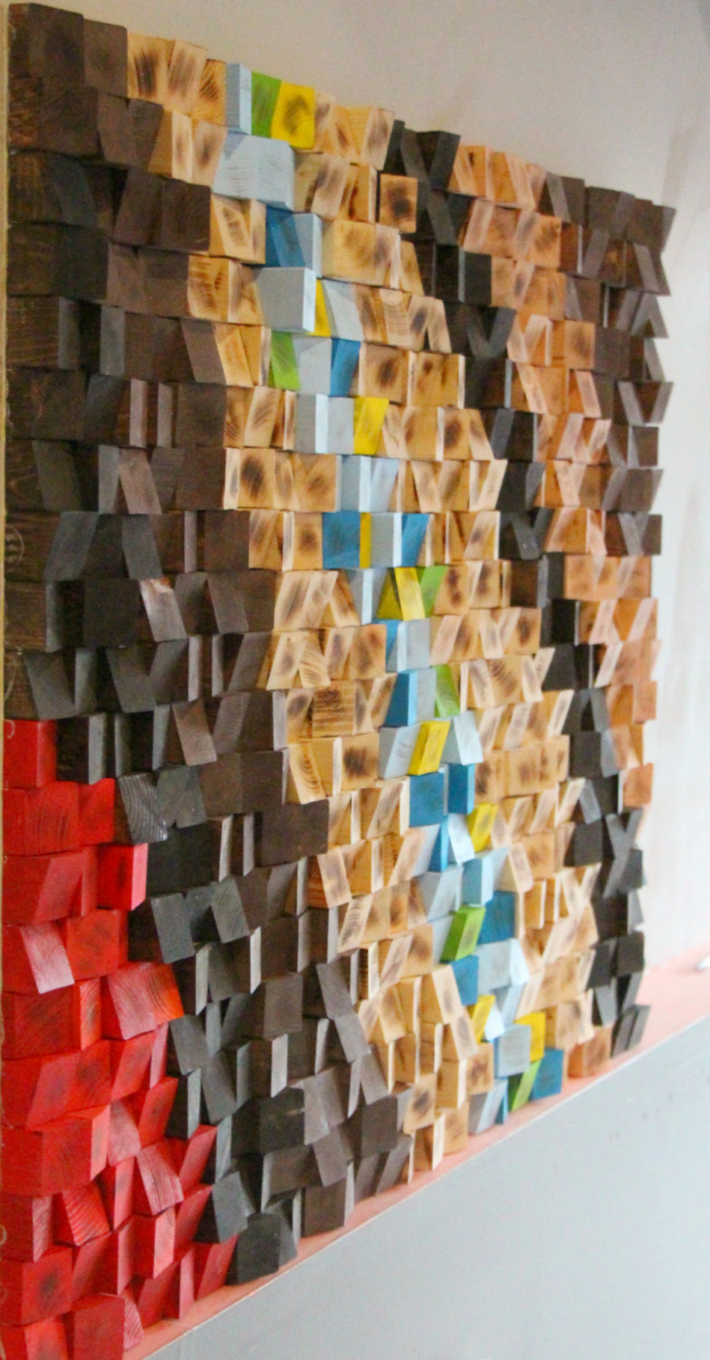 ... Wood Wall Sculpture Abstract Wood Art. 🔍. Previous; Next