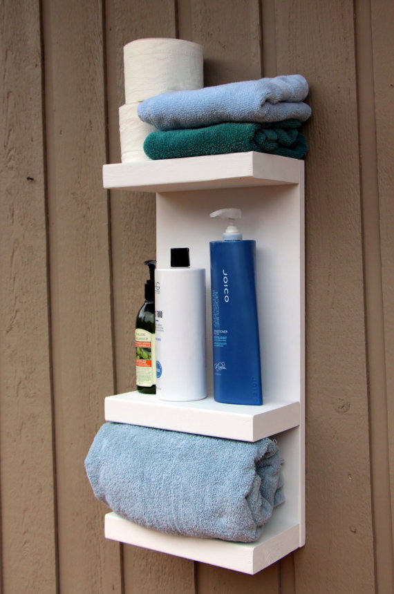Buy 3 Tier Bath Storage, Bathroom Towel Rack, Bath Storage, Everyday ...